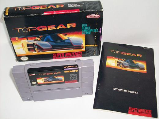 Top Gear (CIB) - SNES Game
